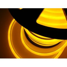 Гибкий неон LN-FX-50-240V-Y, Led-Neon-Flex, 14х27,5мм, желтый, кратность резки 1,52м