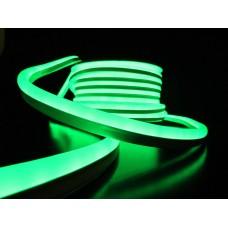 Гибкий неон NH-FX-50-24V-G, проф., зеленый, 14х27,5мм, кратность резки 0,15м (отгрузка только бухтами по 50м)