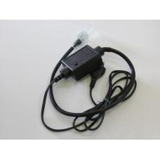 NCL-8FAE1.5A-240V контроллер на 1,5 A для LN-FCB-4W-25M-240V-RGB (черный корпус)