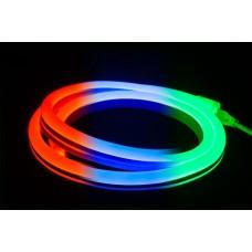 Гибкий неон SLN-FX-4W-1.2CM-0.864M-23M-220V-RGB, RGB мульти, 20х20мм, кратность резки 0,86м