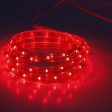 Дюралайт светодиодный двухжильный LED-XD-2W-100M-240V красный, 13мм, кратность резки 2м
