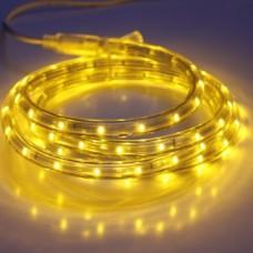 Дюралайт светодиодный двухжильный LED-XD-2W-100M-240V желтый, 13мм, кратность резки 2м