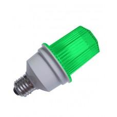 Ксеноновая строб-лампа Е27, зеленый цвет G-JS07Y