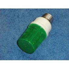 Светодиодная строб-лампа для Белт Лайт E-27, зеленая G-LEDJS07G