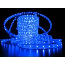 Дюралайт светодиодный двухжильный LED-СDL-2W-100M-11.5MM-3,33СМ-220V-B синий, 13мм, кратность резки 2,38м