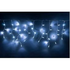 Светодиодная бахрома LED-RPLR-160-4.8M-240V-W/WH-F(W) W/O белая, белый FLASH, белый провод (без силового шнура) 4,8*0,6 м