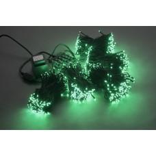 Светодиодный спайдер LED-BS-200*5-20M*5-24V-G зеленый, черный провод, 5 нитей по 20 м