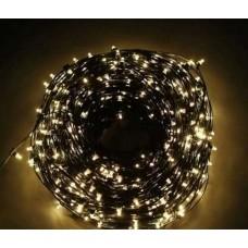 Светодиодный клип-лайт LED-LP-ZY-15CM-105M-12V-WW/BL белый теплый цвет, черный провод
