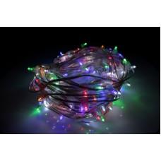 Светодиодный клип-лайт LED-LP-200-30M-12V-M-F(W) мульти, белый Flash, прозрачный провод, 30М