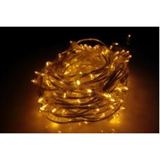 Светодиодный клип-лайт LED-LP-200-30M-12V-Y-F(Y) желтый, желтый Flash, прозрачный провод, 30М