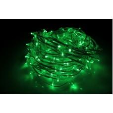 Светодиодный клип-лайт LED-LP-200-30M-12V-G-F(G) зеленый, зеленый Flash, прозрачный провод, 30М