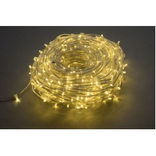 Светодиодный клип-лайт LED-LP-15СМ-100M-666L-12V-WW/CL белый теплый, прозрачный провод (c насадкой-колпачек)