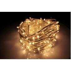 Светодиодный клип-лайт LED-LP-15-100M-12V-WW-F(WW) тёплый белый, теплый белый Flash, прозрачный провод (c насадкой-колпачек)