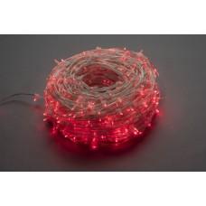 Светодиодный клип-лайт LED-LP-15-100M-12V-R-F(R) красный, красный Flash, прозрачный провод (c насадкой-колпачек)