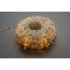 Светодиодный клип-лайт LED-LP-15-100M-12V-Y-F(Y) жёлтый, жёлтый Flash, прозрачный провод (c насадкой-колпачек)