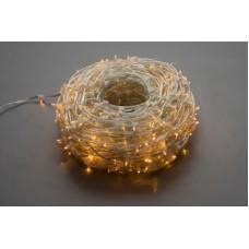 Светодиодный клип-лайт LED-LP-15-100M-12V-Y-F(Y) желтый, желтый Flash, прозрачный провод (без колпачка)