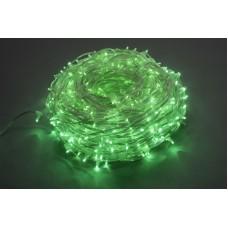Светодиодный клип-лайт LED-LP-15-100M-12V-G-F(G) зеленый, зеленый Flash, прозрачный провод (без колпачка)