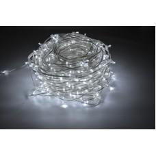 Светодиодный клип-лайт LED-LP-15СМ-100M-666L-12V-W/CL белый, прозрачный провод (c насадкой-колпачек)