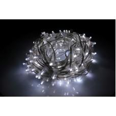 Светодиодный клип-лайт LED-LP-200-30M-12V-W-F(W) белый, белый Flash, прозрачный провод, 30М