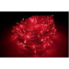 Светодиодный клип-лайт LED-LP-200-30M-12V-R-F(R) красный, красный Flash, прозрачный провод, 30М