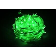 Светодиодный клип-лайт LED-FPC-3528-135-20M-12V-G зеленый, прозрачный провод, 135 светодиодов, 20М, 12V