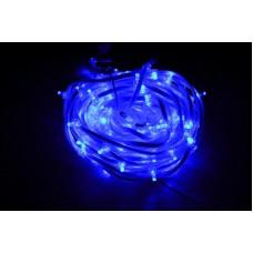 Светодиодный клип-лайт LED-FPC-3528-135-20M-12V-B синий, прозрачный провод, 135 светодиодов, 20М, 12V