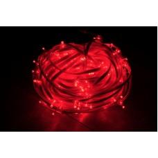 Светодиодный клип-лайт LED-FPC-3528-135-20M-12V-R красный, прозрачный провод, 135 светодиодов, 20М, 12V