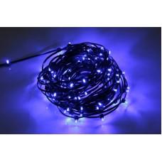 Светодиодный клип-лайт LED-LP-ZY-15CM-20M-12V-B/BL синий, черный провод, 20М, 133 светодиода