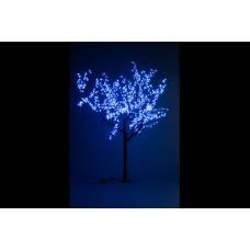 Дерево светодиодное, Сакура 1,9*1,5 м синее