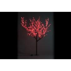 Дерево светодиодное, Сакура 1,9*1,5 м красное
