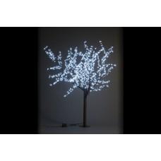 Дерево светодиодное, Сакура 1,9*1,5 м белое