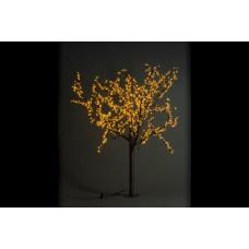 Дерево светодиодное Сакура 1,9*1,5 м желтое
