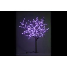 Дерево светодиодное Сакура 1,9*1,5 м фиолетовое