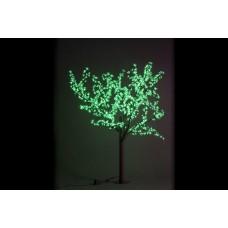 Дерево светодиодное, Сакура 1,9*1,5 м зеленое
