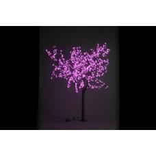 Дерево светодиодное, Сакура 1,9*1,5 м розовое