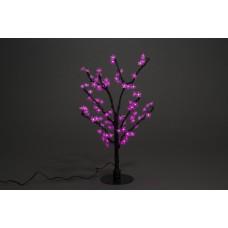 Куст светодиодный, Сакура 0,8*0,8 м розовый (96 светодиодов)