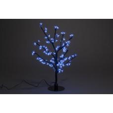 Куст светодиодный, Сакура 0,8*0,8 м синий (96 светодиодов)
