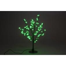 Куст светодиодный, Сакура 0,8*0,8 м зеленый (96 светодиодов)