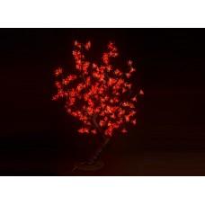 Куст светодиодный, Сакура 0,8*0,8 м красный (224 светодиода)