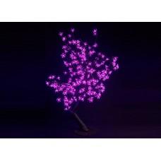 Куст светодиодный, Сакура 0,8*0,8 м розовый (224 светодиода)