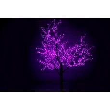 Дерево светодиодное Сакура 2,5*2,0 м фиолетовое