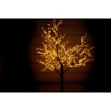 Дерево светодиодное, Сакура 2,5*2,0 м желтое