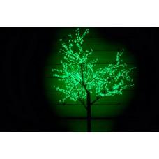 Дерево светодиодное Сакура 2,5*2,0 м зеленое