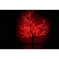 Дерево светодиодное, Сакура 2,5*2,0 м красное