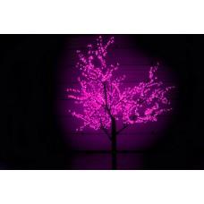 Дерево светодиодное Сакура, 2,5*2,0 м розовое