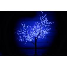 Дерево светодиодное, Сакура 2,5*2,0 м синее