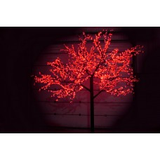 Дерево светодиодное Сакура 3,6*3,0м красное
