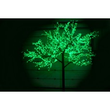 Дерево светодиодное, Сакура 3,6*3,0м зеленое