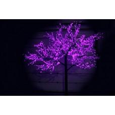 Дерево светодиодное Сакура 3,6*3,0м фиолетовое