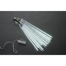 Тающие сосульки LED-PLM-SNOW-420L-0,5-4.5M-10-12V-W белые, 10шт, 4.5*0.5м (несоединяемая)